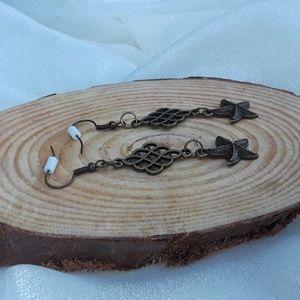 Fairy Tale Jewelry Jewelry - Classy Starfish - dangle earrings